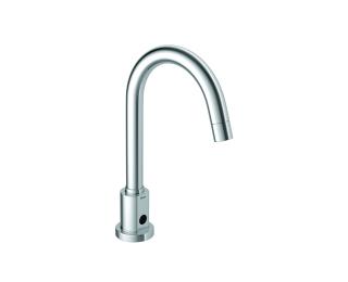 Torneira on/off e hidrogeradora cilíndrica de mesa para lavatório
