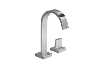 Torneira temporizada de mesa bica alta para lavatório