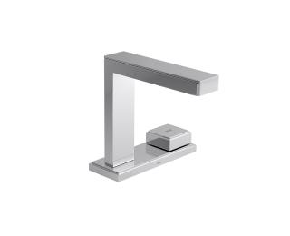 Torneira de mesa com chapa bica alta para lavatório