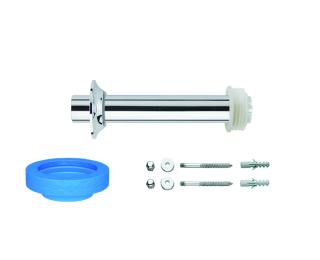 Kit de instalação para bacia convencional com fixação vertical