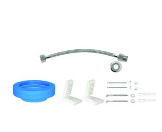 Kit de instalação para bacia com caixa com fixação lateral