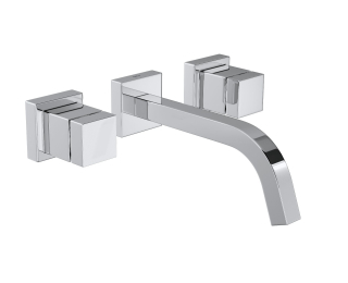 Misturador de parede para lavatório