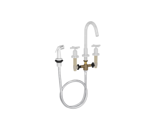 Desviador de lavatório com ducha higiênica