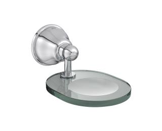 Saboneteira de vidro