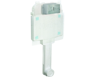 Caixa de descarga embutida para alvenaria e drywall para bacia de piso