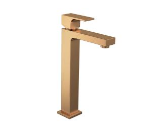 Misturador monocomando de mesa bica alta para lavatório
