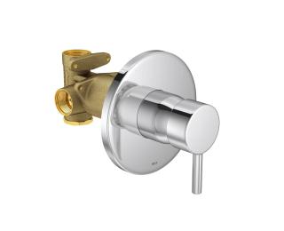Misturador monocomando de chuveiro para baixa e alta pressão
