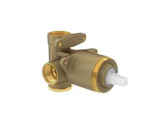 Base monocomando de chuveiro para baixa e alta pressão;;