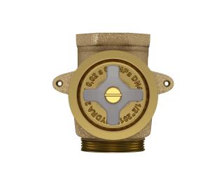 Base para válvula de descarga