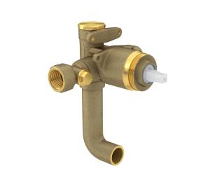 Base misturador monocomando para ducha higiênica