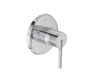 Acabamento monocomando de  ducha higiênica para alta e baixa pressão