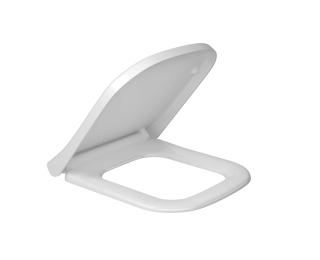 ASSENTO TERMOFIXO COM EASY CLEAN E SLOW CLOSE - BRANCO GELO