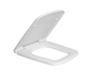Assento plástico com slow close Branco