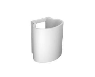 Coluna suspensa para lavatório