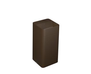 Cuba de piso quadrada com mesa e grelha